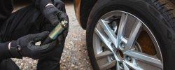 Mobile Tyres 2 U mechanic inspecting wheel changing tool